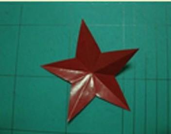 拜求五角星的剪纸方法