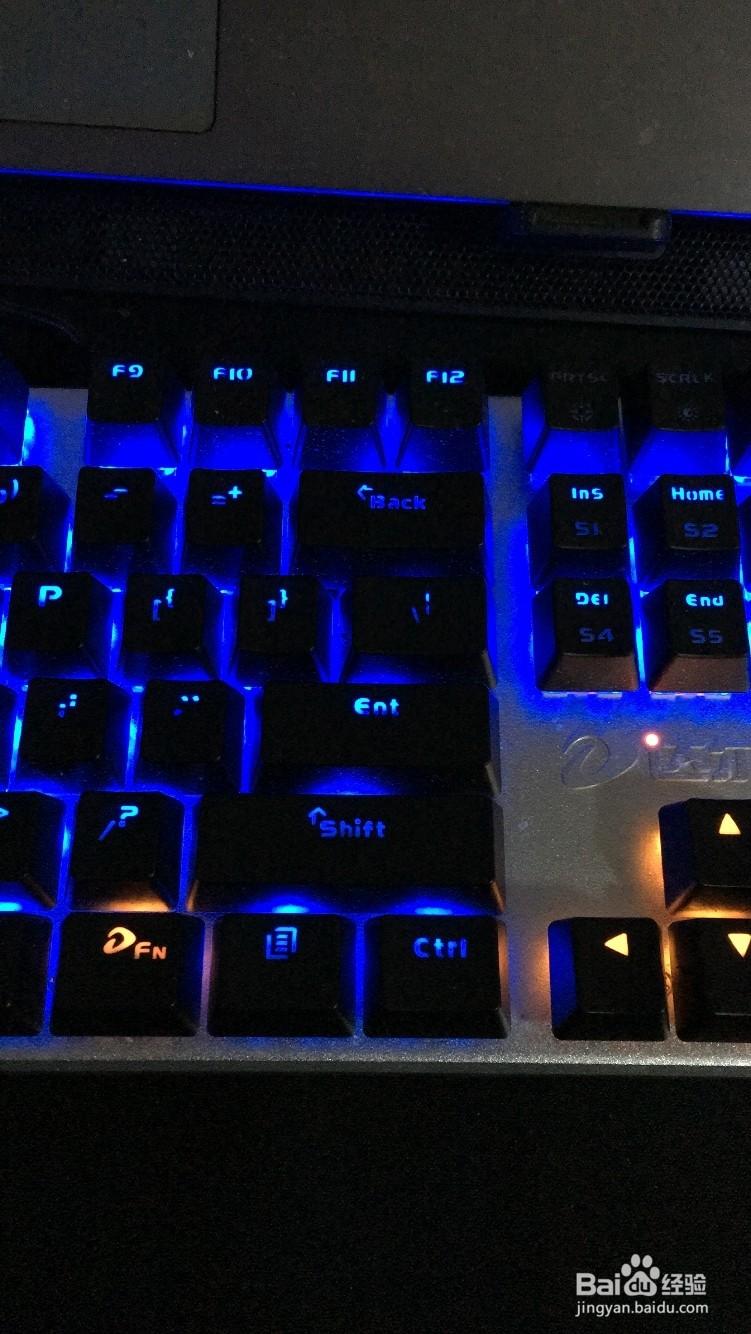 我的机械键盘跑马灯不亮了,但是键盘还能用是为什么啊